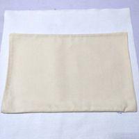 fodera per cuscino in twill di cotone naturale beige chiaro fodera per cuscino in twill di cotone con cerniera nascosta 11 * 17 in omaggio da DHL
