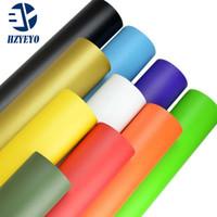 Haute qualité noir mat en vinyle Wrap air libre Bubble Autoétiquettes LIVRAISON GRATUITE Taille: 152 cm * 30 cm