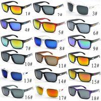 Venda quente dos óculos de sol baratos para homens esporte de ciclismo óculos desinger deslumbrar espelhos cor óculos 18 cores frete grátis