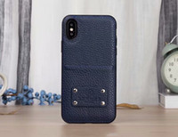 2018 For iPhone x Luxury Brand with card Pocket phone case c...