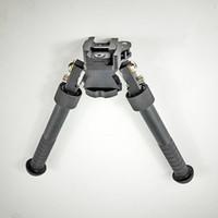 Degrés de pivot réglables en hauteur pour Atlas Bipod 6 - 9 pouces Rotation Haute Qualité Anodisation CNC Noir Fini