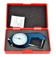 두께 미터 정밀도 0-10 * 0.1mm의 치과 캘리퍼 시계 휴대용 미니 금속 두께 측정 도구 테스터