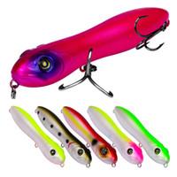 Ziehen Popper Künstliche Laser Swimbaits 10,3 cm 15g Lipless Schwimmende Schwimmen Snakehead Bleistift fischköder bass köder