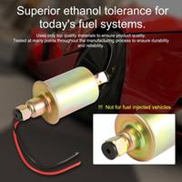 E8012S pompa di trasferimento dell'olio della pompa del carburante elettronica a bassa pressione portatile della benzina 12V