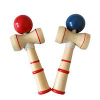 Trasporto libero giapponese giocattoli per bambini Abilità palla Kendama Puzzle in legno gusto bambini adulti classico giocattolo Tradizione