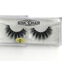 New arrival Real Siberian 3D Mink Strip False Eyelash Long I...