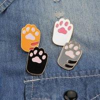 Chien Pet Sac à dos Pied Animal EnaMel Pin Cat Icône Cat Icône Imprimer Patte Broche Bouton Bouton Bouton Badge Bijoux LHTQC