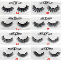 Real Siberian 3D Mink Individual Eyelashes 12 Style False Ey...