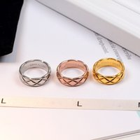 High quality 316L Titanium Steel Fashion Ring with 3 colors ...