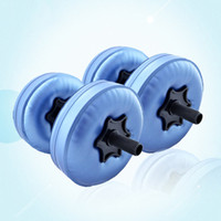 2pcs 5- 10kg Adjustable Dumbbells Irrigation Water Water- fill...