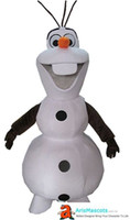 Funny Adult Cartoon Character Snowman mascot costume Lovely ...