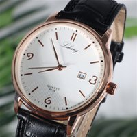 DHL Wholesale Mens Fashion Casual Watch Fashion Leather Quar...