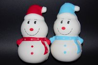 New Products Cute Cartoon Snowman Slow Rebound PU Toy Squish...