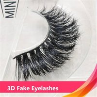 1pair Luxurious 100% Siberian Messy Thick Eyelashes 3D False...