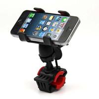Motocicleta suporte do telefone do telefone suporte do telefone ajustável guidão titular para telefone gps
