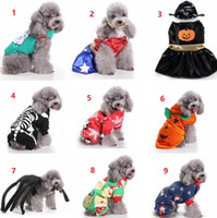 Halloween Christmas Dogs Cats Costumes Witch Spider Cosplay ...