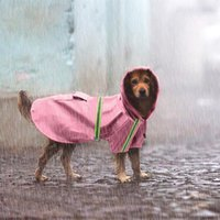 Dog Waterproof Raincoats Teddy Puppy Apparel Spring Summer O...