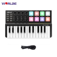 WORLDE Panda MIDI Keyboard 25 Keys Mini Piano Ultra Portable...