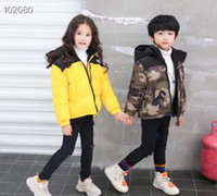 Baby Boys Jacket 2018 Autumn Winter Kids Girls Warm Thick Co...