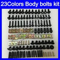 pernos carenado completo kit de tornillos para Kawasaki EX250 08 09 10 11 12 EX 250 2008 2009 2010 2011 2012 tornillos tuercas del cuerpo de tuerca 25colors juego de pernos