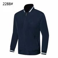 tute sportive Giacca uomini vestiti di sport 2019 stabiliti dei vestiti hoodies degli uomini Primavera sportivo # 2288