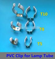 Mescolare la staffa della lampada in acciaio inox T5 T8 T10 con incapsulato per tubo luminoso