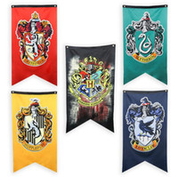 Harry Potter Party Supplies College Flag Banners Decorative ...