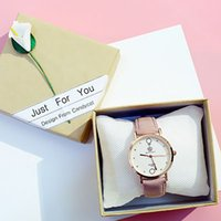 Candycat Watch Box Gift Box Kraft Paper To Send A Box Of Flo...