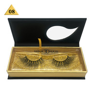 High Quality mink lash HUAPAN mink eyelash 3D false eyelashe...