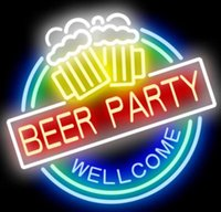 Gift Beer Party BC Road Runner Beep Beer DIY Glass Neon Sign Flex Rope Neon Light Indoor Outdoor Decoration RGB Voltage 110V-240V