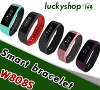 W808S Wristband Smartwatch Pedometer Heart Rate Monitor SMS ...