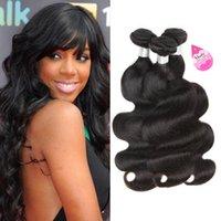 10a Brasiliansk Virgin Hair Body Wave 100% Human Hair Weave 3 buntar Obehandlade Peruanska Malaysiska Indiska Mongoliska Remy Hair Extensions