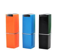 Новый держатель для губной помады, держатель для сигарет, разноцветные помада Shaped алюминиевого сплава трубы помада трубы