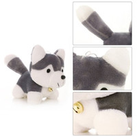 Siberian Husky Super Cute Plush Toy Simulation Dog Model Toy...