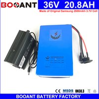 BOOANT EU US Free Shipping Made of Samsung 18650 36V 20AH 10...