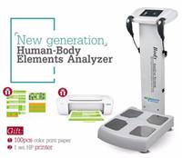 2018 نيويتس! تكوين الجسم محلل الدهون المهنية محلل الجسم آلة محلل عنصر / CE شحن مجاني