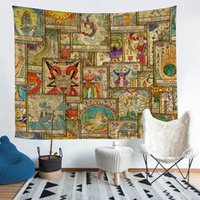 Tarot Front Pattern Theme Multicolor Tapestry 36*25 60*51 80...