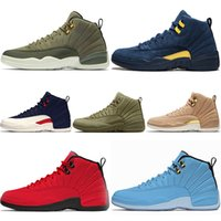 Designer 12 12s Men Basketball Shoes CP3 Class of 2003 Michi...