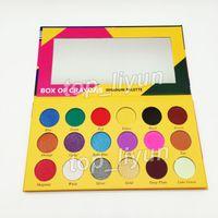 2018 новая коробка мелки тени для век Ishadow палитра 18 цвет мерцание матовый тени для век палитра макияж тени для век бесплатная доставка