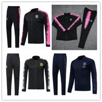 le psg tracksuit adult Soccer JACKET set 2018 19 Paris track...