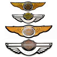 Cool 3D Adesivi per auto Adesivi per auto Metallo Badge Badge Auto logo Emblema 100 105 110 anniversario Auto Decalcomanie per lo styling divertente per Yamaha Arle