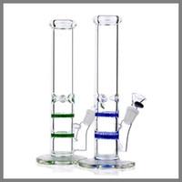 Мини-сотовый бонг производитель-RA262-две функции синий стеклянный сотовый диск перколятор стекло для курения бонг, труба, водопровод