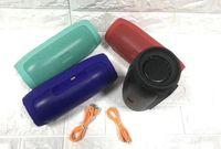 Carga Sem Fio Bluetooth portátil 4 Speaker Mini Falante À Prova D 'Água Speaker Bulit-in Mic Handsfree Suporte TF Cartão USB Para Samsung Iphone