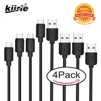 Kiirie Type C Cable Pack With 4 Data Lines 1*1ft+ 2*3. 3ft+ 1*6...