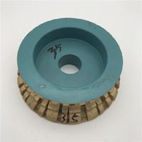 Алмазный спеченный профильный круг 140 мм для гранитного шлифовального круга Абразивный инструмент Толщина 35 мм Внутреннее отверстие 30 мм
