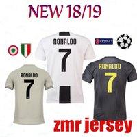 TOP Thailand RONALDO 18 19 Juventus champions league soccer jersey football  shirt 2018 2019 DYBALA PJANIC MATUIDI Costa uniforms JUVE f9b302912