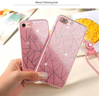 Hot sell TPU bling cases with plating design shinny phone sh...