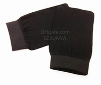 Exfoliating mitt, Scrub mitt, Tan eraser, Bath mitt used for...