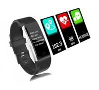 Nouveau moniteur de fréquence cardiaque smart bracelet bracelet montre tensiomètre fitness tracker pour xiaomi pk mi band 2