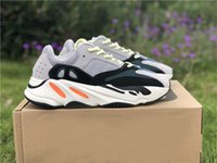 2018 New Release 700 Wave Runner Kanye West Wave Sneakers Authentic Running shoes Authentic Sneaker With Box Size 5-12